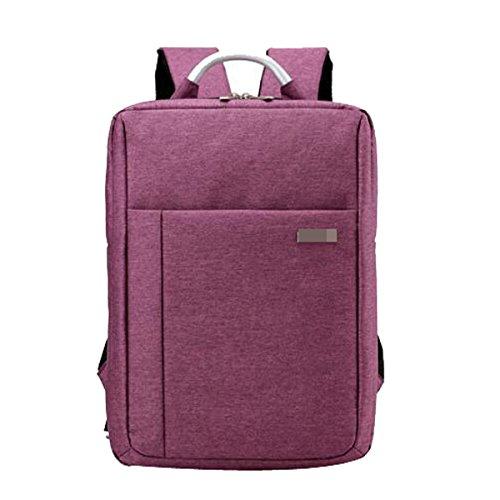 Voyage étudiant Qualité Loisirs Affaires Sac à Dos Sacs à Dos Pour Ordinateur Multicolor,Purple-M
