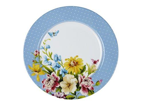 Katie Alice English Garden Porzellan-Beilagenteller, 19 cm (7½) - Butterfly Garden Teller