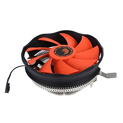 Preisvergleich Produktbild Asiproper 12cm Computer Case CPU Cooling Fan Heizkörper Silent CPU Kühler für Intel AMD