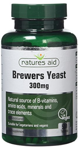 Natures Aid Brewers Yeast Tablets 300mg Pack of 500 Test