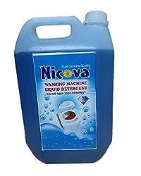 Nicova Washing Machine Liquid Detergent (5 Ltr)