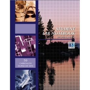 Student Lab Notebook - with Spiral Binding and 50 Carbonless Duplicate Sets
