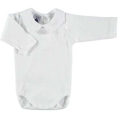 babidu 1188, Body Para Bebe, Blanco, 18 meses