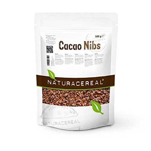 Cacao Nibs – NATURACEREAL – Raw Cacao Nibs – 500 g – A Piece Of Ha...