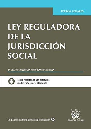 Ley Reguladora de la Jurisdicción Social 5ª Edición 2014 (Textos Legales)
