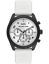 158fec2ed0105 Michael Kors Reloj Cronógrafo para Hombre de Cuarzo con Correa en Silicona  MK8685