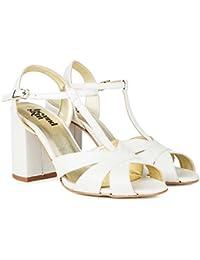 82d0cf4e77d Beyond Skin Vegan Shoes Aurora B Cream Block Heel Vegan Sandals
