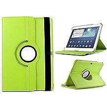 """Theoutlettablet® Funda Giratoria 360º para Tablet Bq Aquaris M10 10.1"""" Book cover case Protección delantera y trasera Color VERDE"""