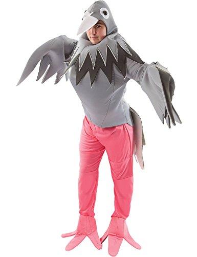 Erwachsene Taube Vogel Tier Fasching Karneval Verkleidung Kostüm (Taube Kostüme)