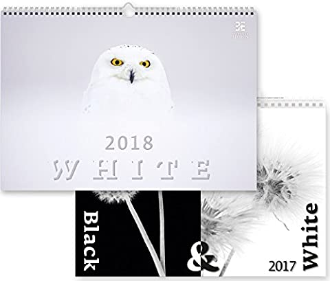 C266-17-18 Kalpa Calendrier mural 2018 blanc 48.5 x 34 cm + Acheter 1 Obtenir 1 gratuit Calendrier