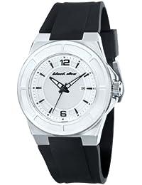 Black Dice BD 067 02 - Reloj analógico de cuarzo para hombre con correa de silicona, color negro
