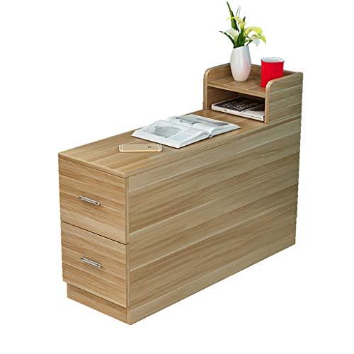 Tables basses Chariot à thé Meuble d'appoint de canapé Petite canapé rectangulaire Amovible (Color : Brown, Size : 70 * 25 * 65cm)