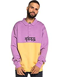 Grimey Sudadera SHAMBALA Stripes Sweatshirt FW18 Violet 342ad3730bc