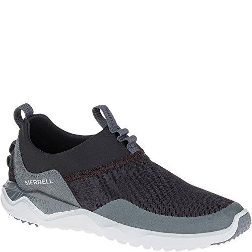 merrell-mens-1six8-mesh-traspirante-light-athletic-mocassino-scarpe-da-ginnastica-uomo-black-uk-size