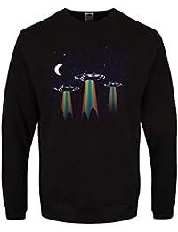 Sweat-shirt Rainbow UFO Homme Noir