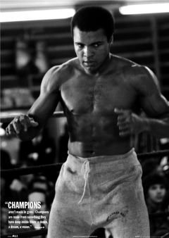 Muhammad Ali Champions Large Boxing Sport Photo Poster 61 by 91.5cm by Elite*Posters