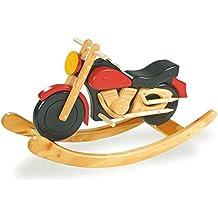 Holz Schaukelmotorrad Schaukel Motorrad Kinderschaukelmotorrad Schaukelspielzeug