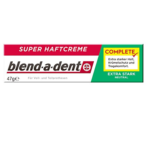 Blend-a-dent Complete Extra stark Neutral Super-Haftcreme, 47 g