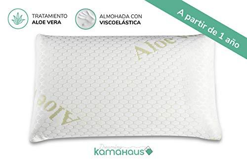 Dreaming Kamahaus Almohada de Cuna VISCOELÁSTICA | Ideal para NIÑOS A Partir DE 1 AÑO | Transpirable...