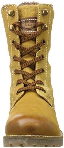 Dockers by Gerli 41hl303-350, Stivali Desert Boots Donna Giallo (Golden Tan)