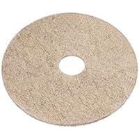 E-line per pavimenti 03,01.10,1216 poliestere, 406,4 mm di diametro, 120 mm, colore: naturale, di capelli (confezione da 5)