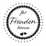 Hochzeitsstempel - Freudentränen - Herzen (Ø 40 mm)