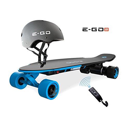 Yuneec EGO 2 E-Longboard Royal Wave + Helm + Zubehör Elektro Longboard E-GO 2
