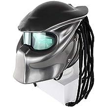 Fayoo Allround Cycling Helmets Casco De Motociclismo Casco Predator Guerrero Casco Retro Personalizado,XL