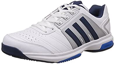 Adidas Men's Barricade Approach Str Blue and White Tennis Shoes - 8 UK