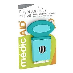 médicAID Peigne Anti-Poux Manuel