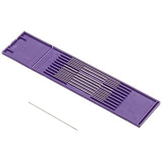 Abicor Binzel 698.0064 Wolfram-Elektrode für ABIPLAS WELD 100W/MT Plasma Schweißbrenner, Durchmesser 1 mm, Länge 57 mm, 10 Stück