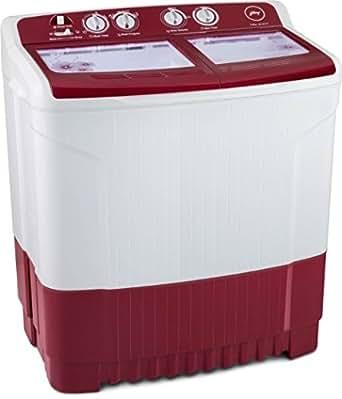 Godrej WS Edge 720 CT Semi-automatic Top-loading Washing Machine (7.2 Kg, Wine Red)