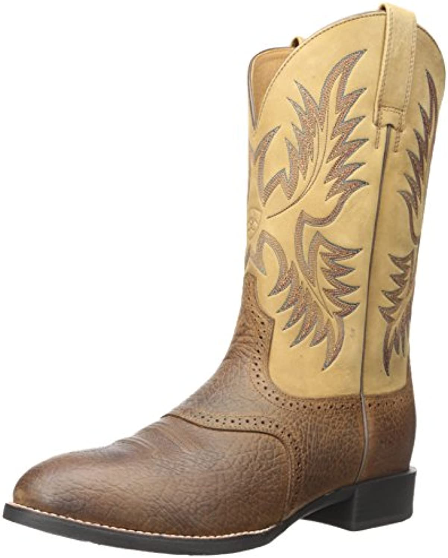 ARIAT Herren Heritage Stockman Western Cowboy Stiefel