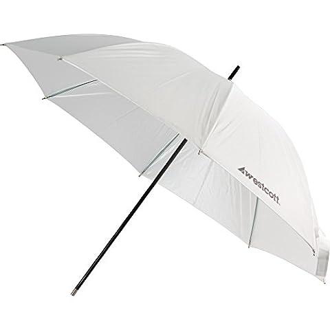 Westcott 2003 32-Inch Optical White Satin Umbrella