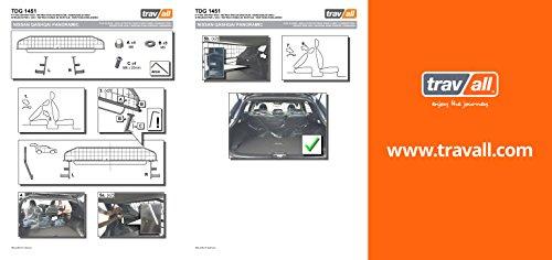 Travall® Guard Hundegitter TDG1451 – Maßgeschneidertes Trenngitter in Original Qualität - 3