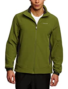 Craghoppers Men's Track Softshell Jacket - Green/Black, XX-Large