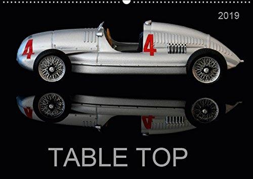 TABLE TOP (Wandkalender 2019 DIN A2 quer): Kleine Dinge ganz groß (Monatskalender, 14 Seiten ) (CALVENDO Kunst)