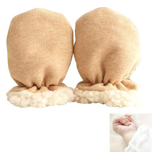 1 par muchachas bebés invierno guantes calientes