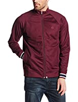 Pretty Green Men's Forston Tracktop Long Sleeve Sweatshirt