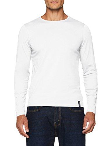 s.Oliver Herren T-Shirt 13.808.31.4535, Weiß (White 0100), X-Large