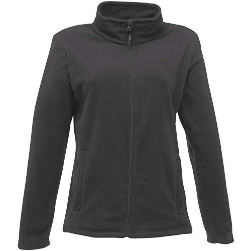 Regatta giacca in micropile con cerniera da donna Nero