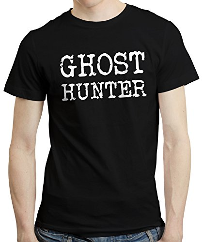 PugSwag Men Ghost Hunter Investigator T-Shirt