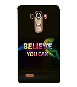 printtech Cool Quotes Back Case Cover for LG G4::LG G4 H815