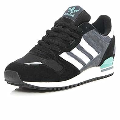 Adidas - zx 700 - m25839-44 2/3 - 10.5 - noir baskets mode homme