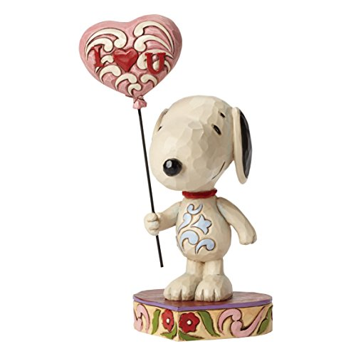 e Love Snoopy mit Herz Ballon Figur ()
