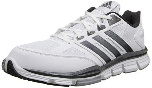 Adidas chaussures de course de vitesse d'entraînement pour homme White-Carbon Met