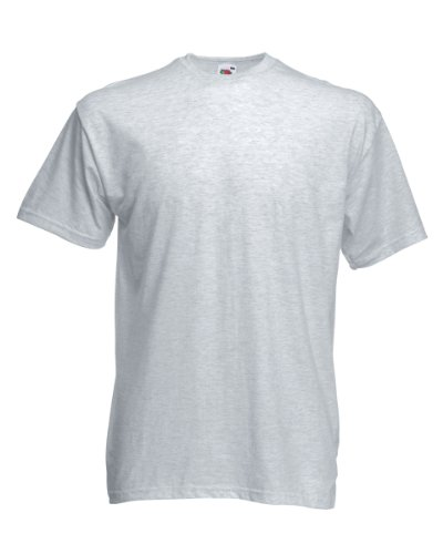 Valueweight T, Größe:L;Farbe:Heather Grey L,Heather Grey - Graues Shirt