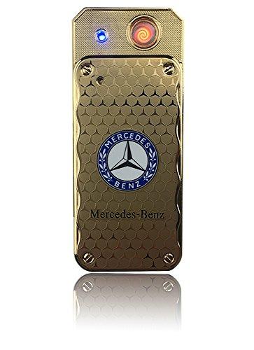 Preisvergleich Produktbild USB Elektronisches Feuerzeug Spirale Wiederaufladbar Kein Gas (Mercedes)