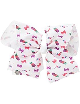 JoJo Siwa - Set Bow and Necklace per ragazze - JoJo - Bianca