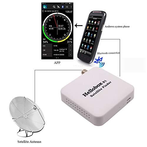 MTSBW Hellobox B1 Bluetooth Satellit-Finder Bluetooth Satellite Finder